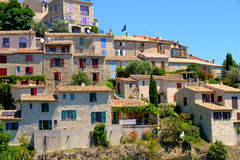 Sainte Croix Du Verdon Provence, Alpes, Frankrijk Stock Afbeeldingen