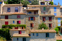 Sainte Croix Du Verdon Provence, Alpes, Frankrike Arkivfoto