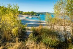 Sainte Croix jezioro Zdjęcia Royalty Free
