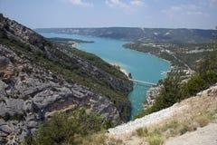 Sainte Croix lake. France. Royalty Free Stock Photography