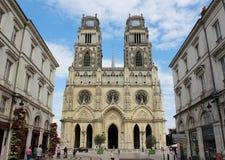 Sainte-Croix Orléans Arkivfoto