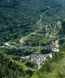 Sainte-Enimie, desfiladeiros du Tarn Imagem de Stock Royalty Free