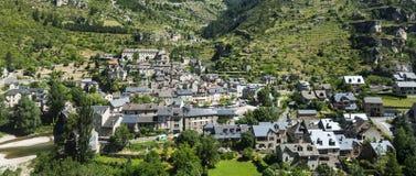 Sainte-Enimie, desfiladeiros du Tarn Imagens de Stock Royalty Free