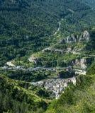 Sainte-Enimie, gargantas du el Tarn Imagen de archivo libre de regalías
