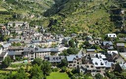 Sainte-Enimie, gargantas du el Tarn Fotografía de archivo libre de regalías