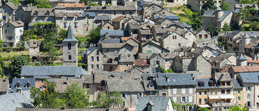 Sainte-Enimie, Gorges du Tarn Royalty Free Stock Images