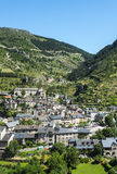 Sainte-Enimie, Gorges du Tarn. Sainte-Enimie, historic town on the Gorges du Tarn (Lozere, Languedoc-Roussillon, France) at summer Royalty Free Stock Photography