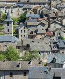 Sainte-Enimie, Kloven du de Tarn Royalty-vrije Stock Afbeelding