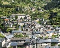 Sainte-Enimie, Kloven du de Tarn Royalty-vrije Stock Fotografie