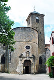 Sainte Eulalie de Cernon church Royalty Free Stock Photography