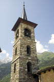 Sainte-Foy-Tarentaise Royalty Free Stock Image