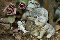 Sainte-Geneviève-DES-Bois, DES Bois, Liers, cimitero russo di Sainte Genevieve in Francia fotografia stock libera da diritti