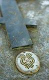 Sainte-Geneviève-des-Bois, Sainte Genevieve des Bois, Liers, Russian cemetery in France. White army Stock Image