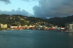 Sainte-Lucie, île des Caraïbes Images libres de droits