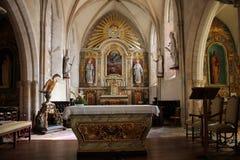 Sainte-Mère-à ‰ glise教会 免版税库存照片