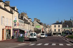 Sainte-Mère-à ‰ glise 免版税图库摄影
