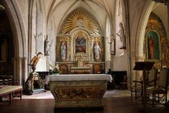 Sainte-Mère-à ‰ glise Kerk Royalty-vrije Stock Foto