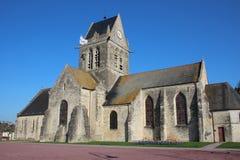 Sainte-Mère-É glise Kirche Stockfoto