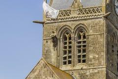 Sainte-Mère-Eglise Immagini Stock Libere da Diritti