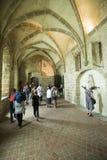 Sainte Madeleine Chapel på Mont Saint Michel Abbey, Frankrike Royaltyfri Fotografi