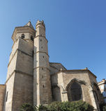 Sainte Madeleine church, Beziers Royalty Free Stock Photo