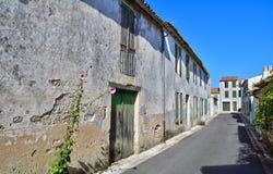 Sainte Maria De Ponowny Francja, Wrzesień, - 25 2016: malowniczy vil Fotografia Royalty Free