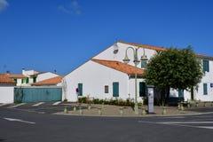 Sainte Maria De Ponowny Francja, Wrzesień, - 25 2016: wioska w aut Fotografia Royalty Free