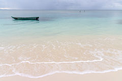 Sainte Marie海岛海景  免版税库存照片