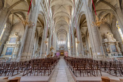 Sainte Marie Church in Gers, Southern France. Stock Image