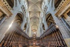 Sainte Marie Church i Gers, sydliga Frankrike Royaltyfria Foton
