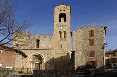 Sainte Marie, Corneilla de Conflent, Languedoc Roussillon, Pyre Stock Images