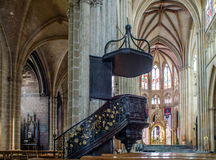 Sainte-Marie de Bayonne Cathedral. France Stock Photo