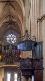 Sainte-Marie de Bayonne Cathedral. France Royalty Free Stock Image
