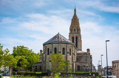 Sainte Marie de la bastide church in Bordeaux Stock Photos