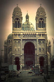 Sainte Marie Majeure. Marseille, France. Images stock