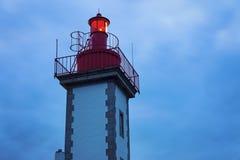 Sainte-Marine Lighthouse Royalty Free Stock Image