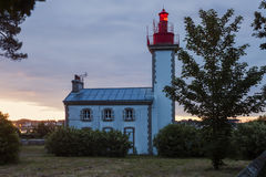Sainte-Marine Lighthouse Stock Images
