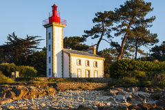 Sainte-Marine Lighthouse Stock Photo