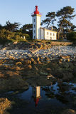 Sainte-Marine Lighthouse Royalty Free Stock Images