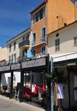 Sainte Maxime, France - april 16 2016 : the picturesque city Stock Image