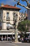 Sainte Maxime, France - april 16 2016 : the picturesque city Stock Photography