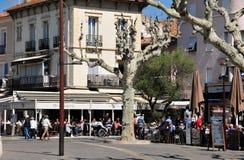 Sainte Maxime, France - april 16 2016 : the picturesque city Stock Images