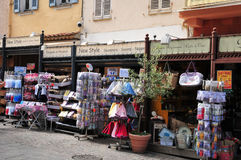 Sainte Maxime, France - april 16 2016 : the picturesque city Royalty Free Stock Photography