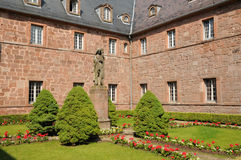Sainte Odile monastery in Ottrott Stock Photos