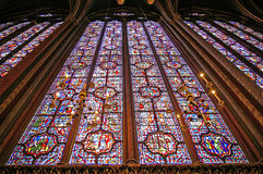 sainte paris chapelle Стоковая Фотография