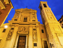 Sainte-Reparate Cathedral in Nice Stock Image