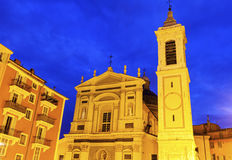 Sainte-Reparate Cathedral in Nice Royalty Free Stock Photo