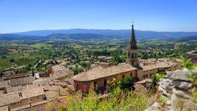 Sainte Saturnin Les Apt village Royalty Free Stock Image