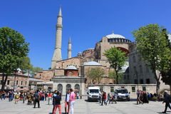Istanbul, Turkey - Hagia Sophia mosque royalty free stock image