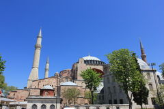 Istanbul, Turkey - Hagia Sophia mosque stock photography
